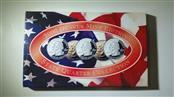 2000 Denver Mint State Quarter Collection MA, MD, SC, NH, VA Uncirc